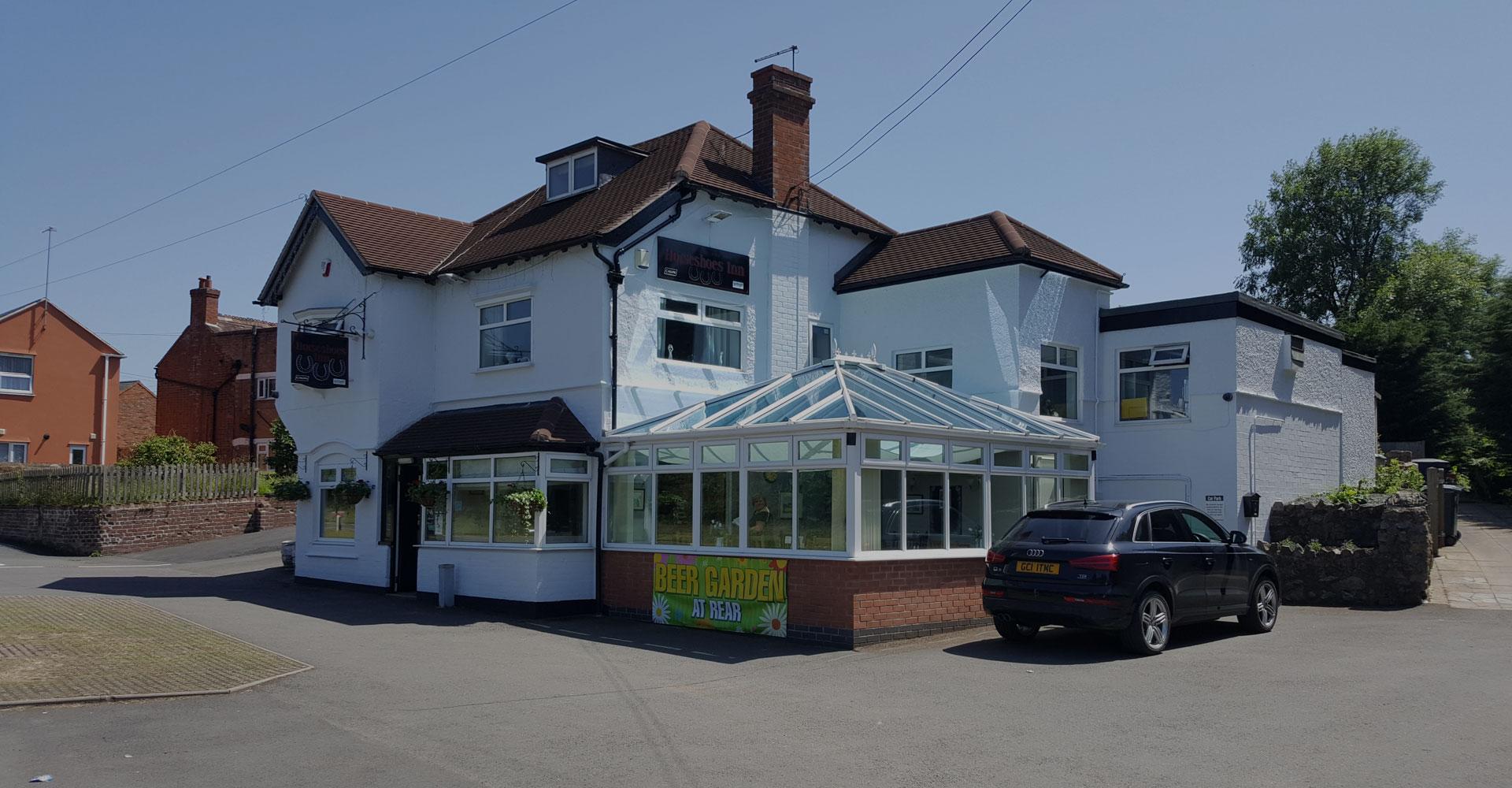 Welcome to the Horseshoe Inn Pontesbury